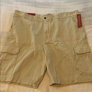 NWT!! Men's Merona Cargo shorts sz44 light khaki
